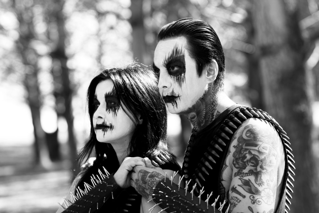 Black Metal Halloween Costumes The Family That Headbangs Together